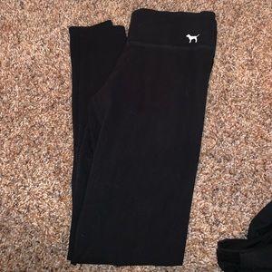 PINK xs black leggings